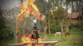 GARUDA Detasemen Kavaleri Berkuda Berani Benar Ikhlas Setia