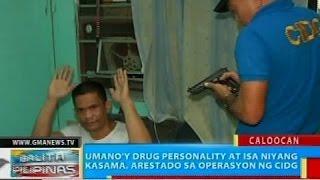 Umano'y drug personality at isa niyang kasama, arestado sa operasyon ng CIDG