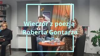 Wieczór z poezją Roberta Gontarza