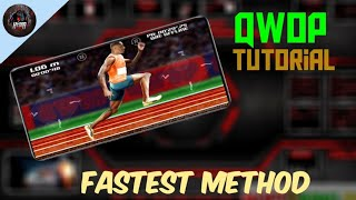 QWOP Basic tutorial How t๐ complete 100m sprint Running tutorial QWOP Android   hydra united
