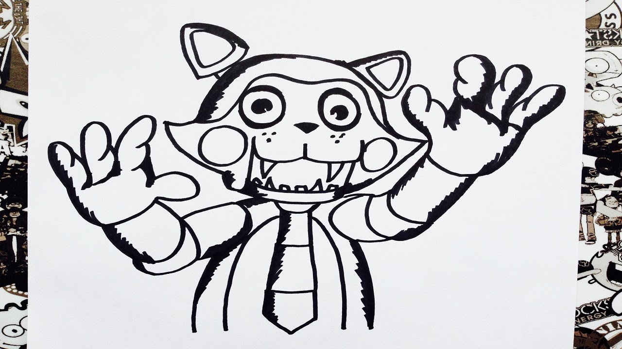 Como Dibujar A Sugar De Five Nights At Freddys How To Draw Sugar The Cat Como Desenhar Sugar