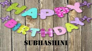 Subhashini   Birthday Wishes