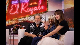 Dakota Johnson, Jeff Bridges y Cynthia Erivo - TODAY Show