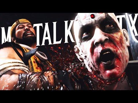 Mortal Kombat X - KILLING OFF CHARACTERS!