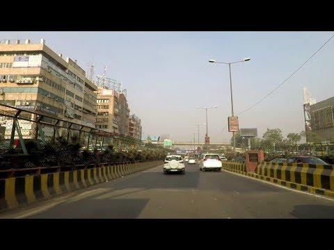 Driving in Noida (Sector 38 to Sector 61) - Uttar Pradesh, India