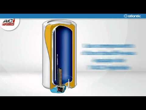 ballon d 39 eau chaude atlantic aci hybride youtube