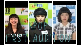 KPOP IDOLS FIRST AUDITION MP3