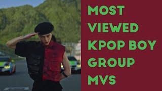 MOST VIEWED KPOP BOY GROUP MUSIC VIDEOS (August 2020)