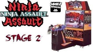 NINJA ASSAULT! Arcade Shooter! Light Gun Game Stage 2