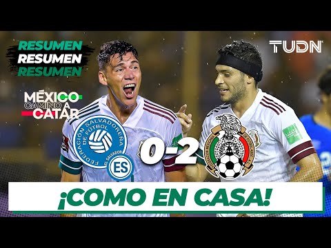 El Salvador Mexico Goals And Highlights