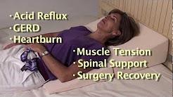 Folding Wedge Cushion Helps Sleeping with Acid Reflux
