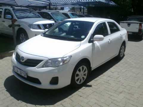 2010 TOYOTA COROLLA 1.6 PROFESSIONAL  NEW SPEC Auto For Sale On Auto Trader  South Africa