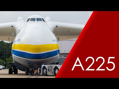 Antonov An-225 Mriya Pushback (Raw)