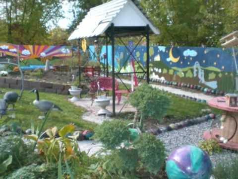 Villa Maria Uses Arts to Create Sensory Garden - YouTube