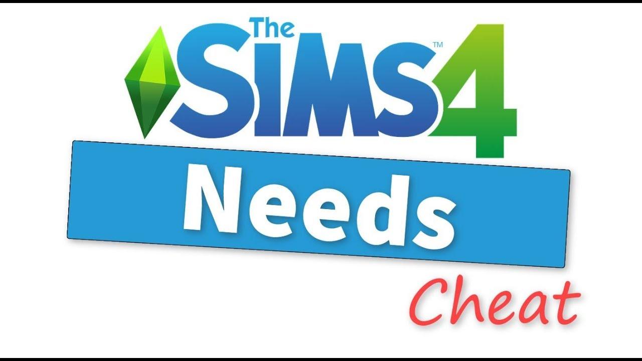 The Sims 4 Need Cheats