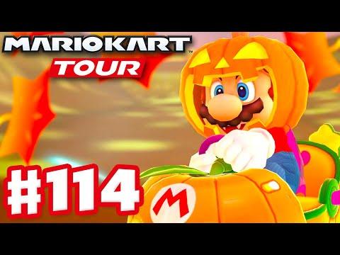 Halloween Mario! Halloween Tour! - Mario Kart Tour - Gameplay Part 114 (iOS)