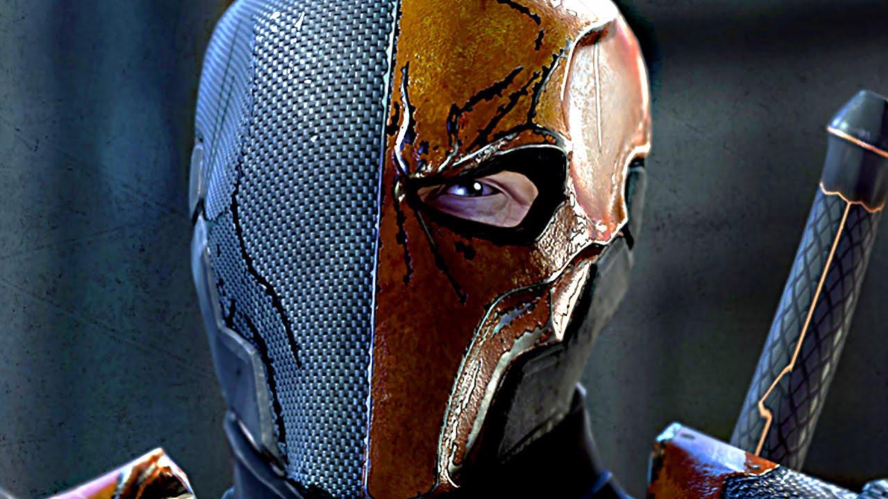 BATMAN Vs. DEATHSTROKE Full Boss Fight