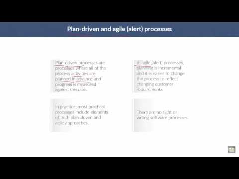 Software Engineering | C2 - L2 | Plan-driven and agile processes