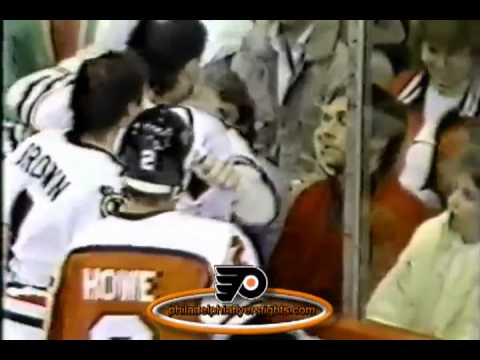 Feb 9, 1986 Rick Tocchet vs Jerry Dupont Philadelphia Flyers vs Chicago Blackhawks
