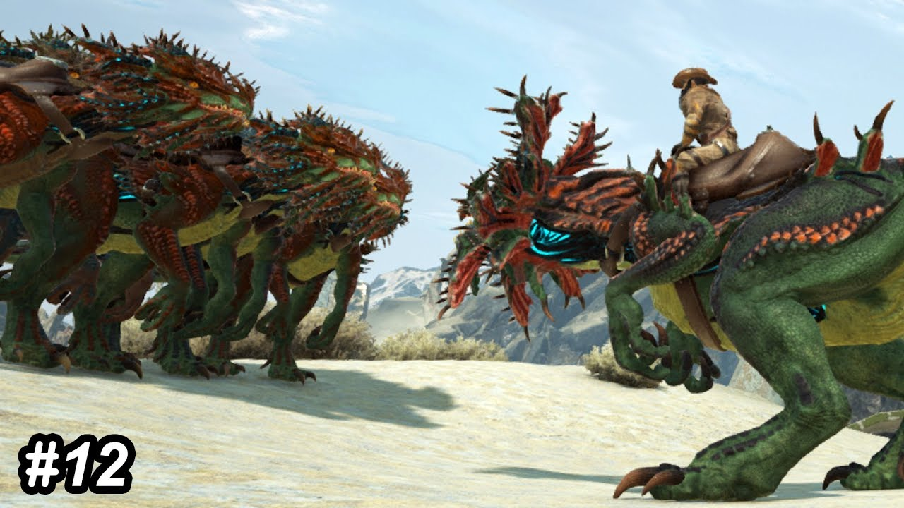Ark Velonasaur Saddle Survival evolved extinction / today we're going to be learning how to tame the velonasaur, best practices, and additional tips! バイク