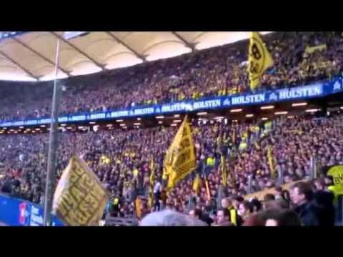 "SKANDAL: Nazi ruft ""Sieg Heil"" während Schweigeminute HSV gegen BVB"