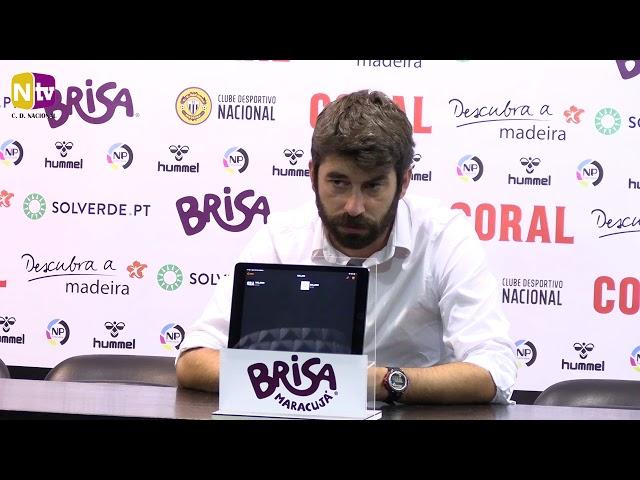 Luís Freire na análise ao empate com o Paços de Ferreira: