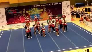 元朗區體育節2016 元朗區啦啦隊公開錦標賽 公開組 CCA