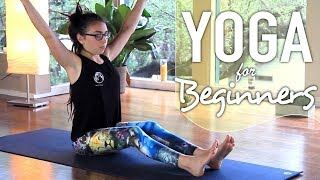 Yoga For Complete Beginners - 30 Minute Full Body Beginner Flow