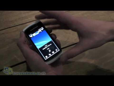 Sony Ericsson Vivaz Pro Demo