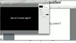Tlingit Linguistics — 2014.09.16