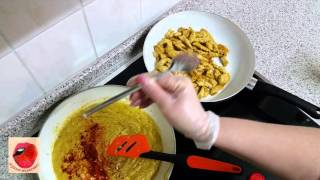 Сочное куриное филе с коктейль фруктами в соусе Карри. Кухня вкусная  - 12