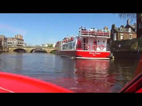 York 2016 Self-Hire Red Boat Service