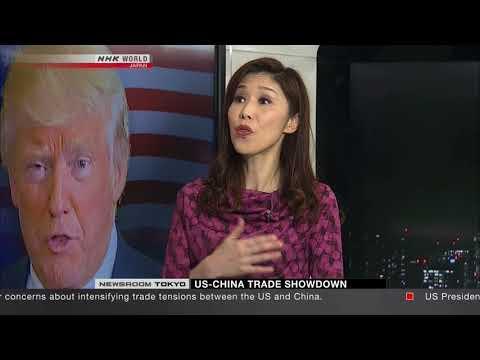 Yuko Fukushima NHK World Newsroom Tokyo Business March 23rd 2018
