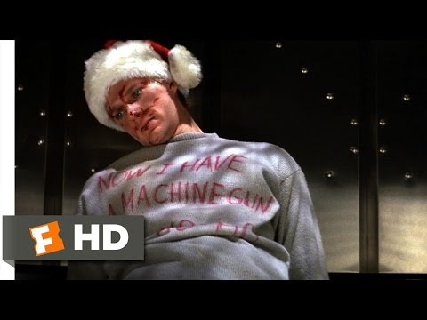 Die Hard (1/5) Movie CLIP - Ho Ho Ho (1988) HD