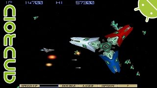 [60 FPS] Gradius Collection | NVIDIA SHIELD Android TV | PPSSPP Emulator [1080p] | Sony PSP