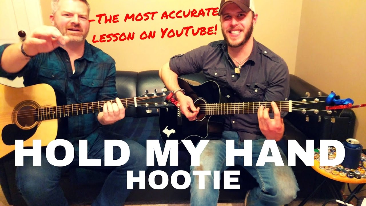 Hold My Hand Hootie And The Blowfish Guitar Lesson Youtube