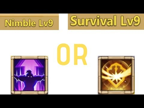 Nimble Or Survival | Castle Clash | Lavanica