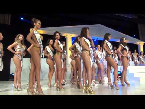 Miss South-Africa & Miss Honduras @ Miss Intercontinental 2014