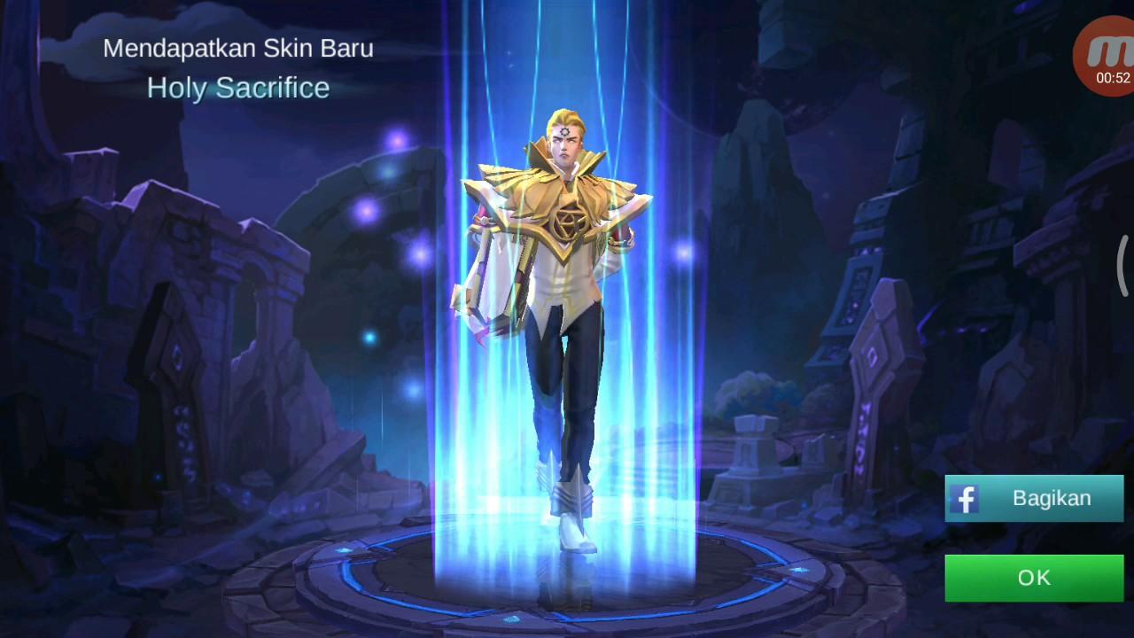 Cara Dapetin Skin Holy Sacrifice Hero