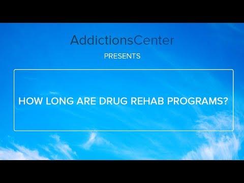 How Long Do Drug Rehab Programs Last - Call 1 (800) 615-1067