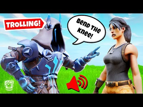ICE KING VOICE TROLLING ON FORTNITE! *SEASON 7* (Voice Troll)
