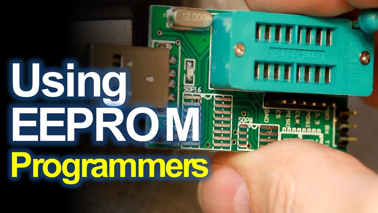 USB EEPROM Programmer and CH341A **DOWNLOAD LINKS  YouTube