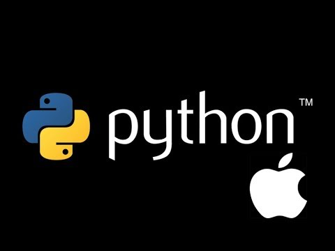 How to install Python3 + Pygame on mac os x - Mac computer