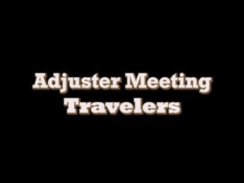 Travelers Insurance Adjuster Never Heard Roofing Contractor Requesting Xactimate Items Before