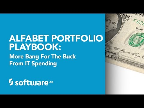Alfabet Portfolio Playbook: More Bang for the Buck from IT S