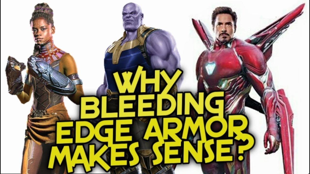 IronMan Armor Motivation And Help - Why Bleeding Edge Armor Makes Sense? -  Avengers Infinity War