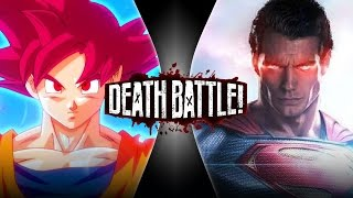 Goku VS Superman 2 | DEATH BATTLE!