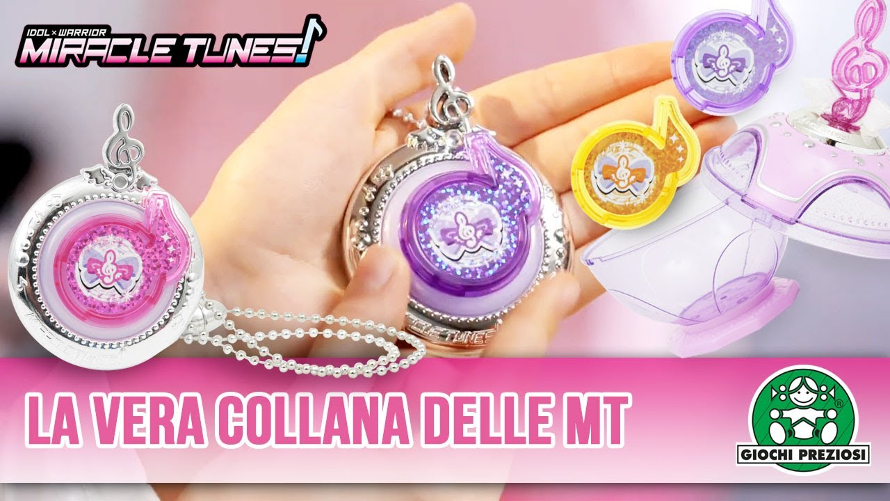 Giochi Preziosi | Miracle Tunes Jewel Pendant e Jewel Case