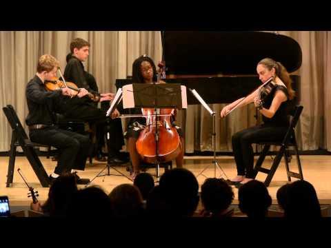 Mozart g minor Piano Quartet - Chamber Music Center of New York