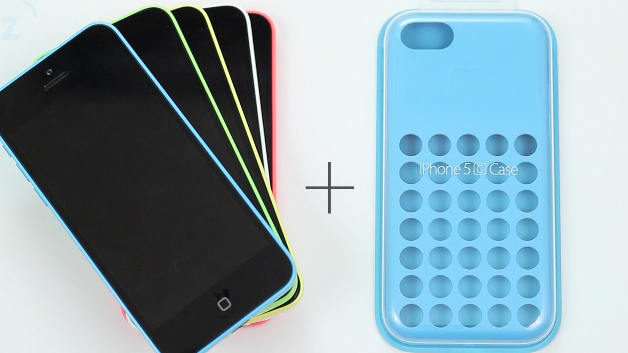 Blue iPhone 5c Case Hands On, Is it good? - YouTube